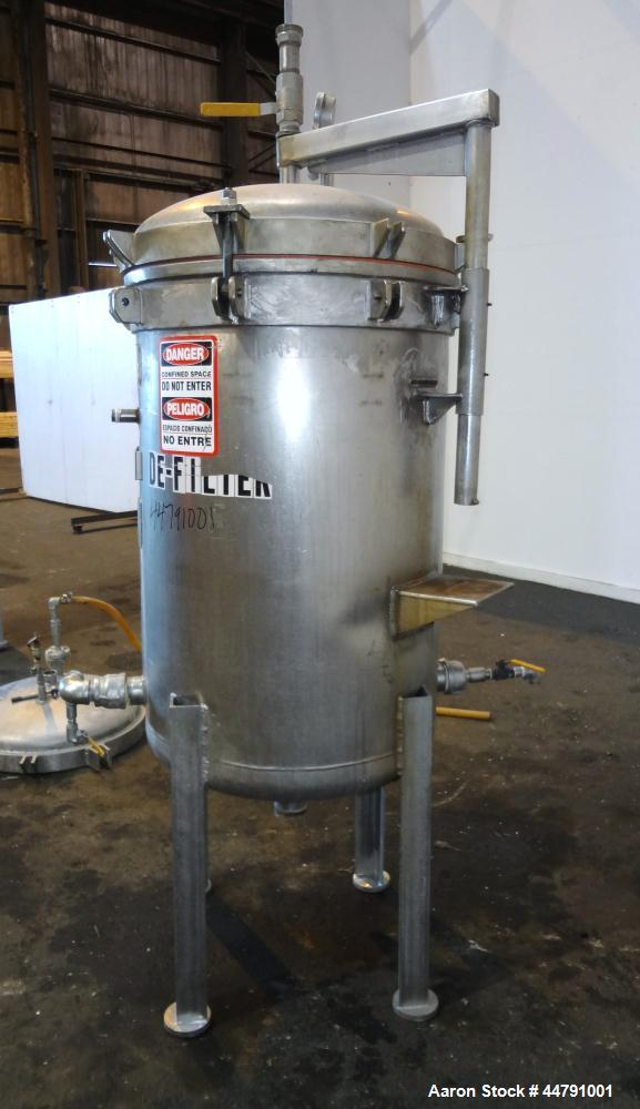 Used- Stainless Steel Niagra Vertical Plate Filter, Model 110-20