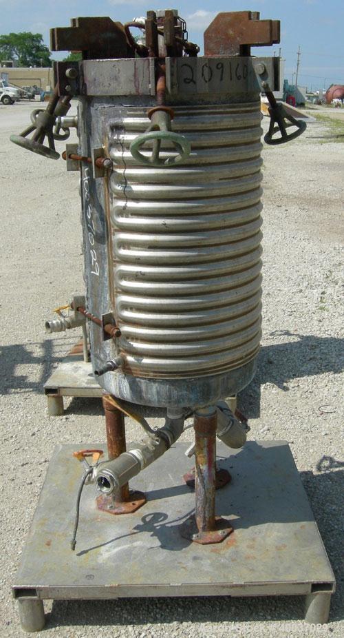 Used- Niagara Horizontal Plate Filter, Model 18-16-D