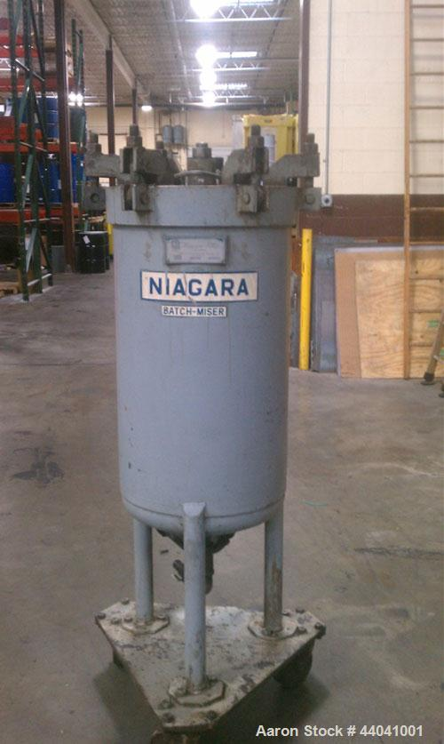 Used- Niagara Batch Miser Horizontal Plate Filter, Model 18-16-D