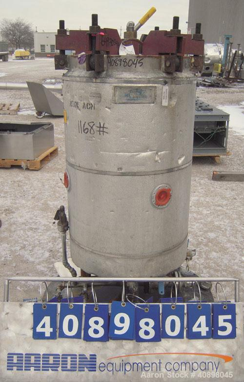 Used- Niagara Horizontal Plate Filter, Model 18-24-S, 304 Stainless Steel. 44.78 Square feet surface area, 3.24 cubic feet c...