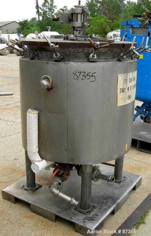 USED: Niagara horizontal plate filter, model 33-12D, 316L stainless steel. 74.44 square feet filter area, 10.08 cubic feet c...