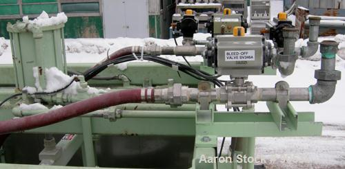 Used: Oberlin automatic pressure filter, model HB, stainless steel, and carbon steel construction.7 square feet filter area....