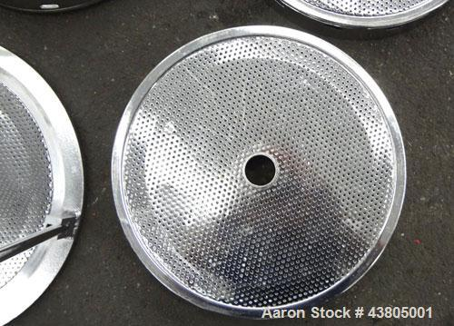Used- Sparkler Horizontal Plate Filter, Model 14-D-4