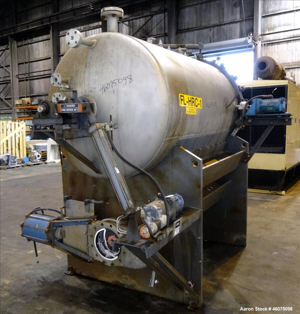 Used- Sparkler HRC Horizontal Plate Filter, Model HRC-150, 304 Stainless Steel. 154.8 Square feet filter area when using (12...