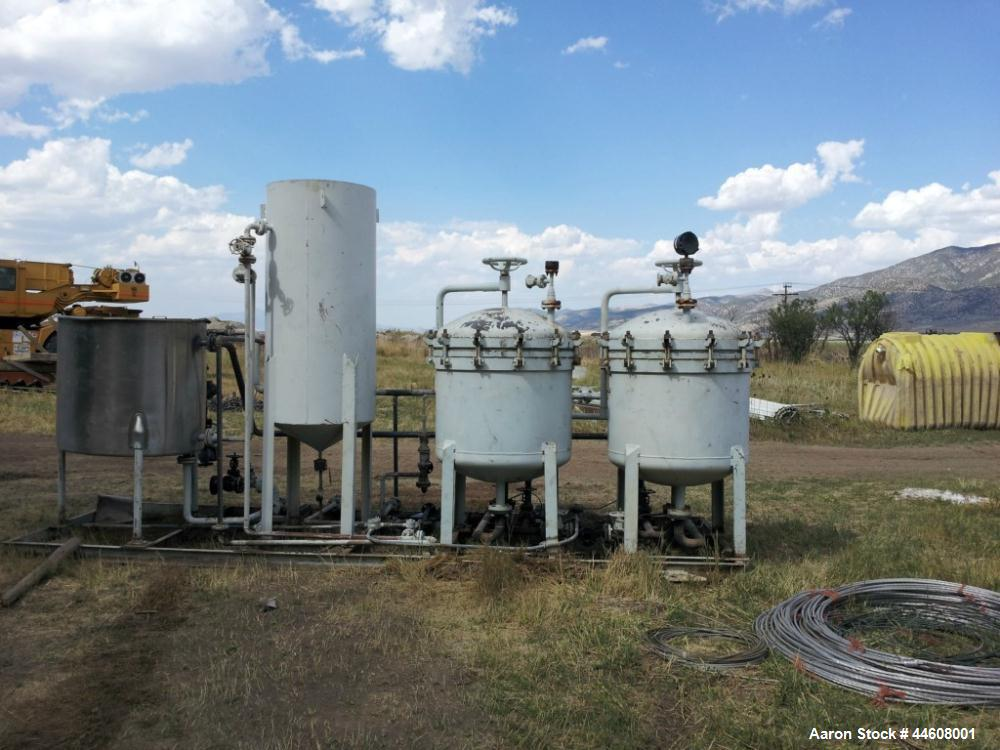 Used- Sparkler Filter System with Dual Filters, Model WO-33-D-9