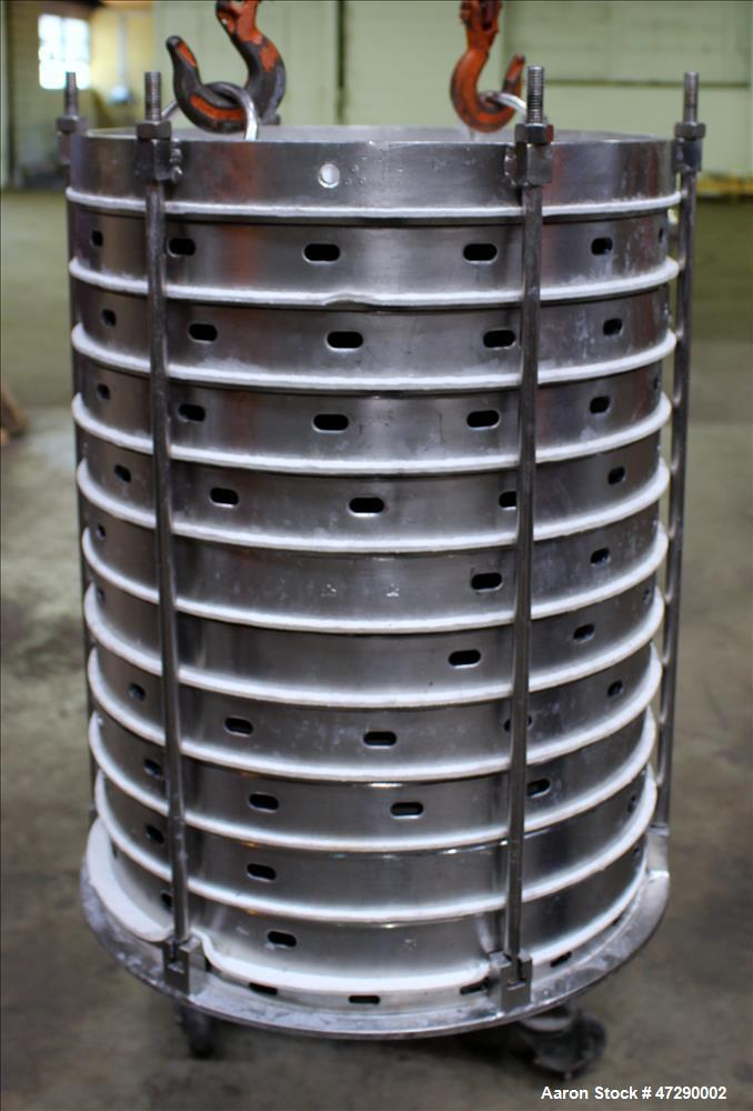 Used- Sparkler Pressure Leaf Filter, 316 Stainless Steel.