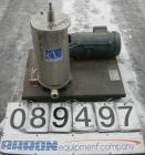 Used- Stainless Steel Alsop Sealed Disc All Purpose Filter, Model SD8SWR20