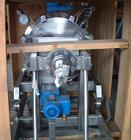Used- Diessel GMBH Foot Rotating Leaf Jacketed Pressure Vacuum Filter