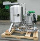 Used-Padovan Pressure Leaf Filter, Model G9. Sanitary stainless steel, 8.60 square meter (90 square feet) centrifugal dry ca...