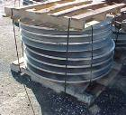 Used- U.S. Filter Pressure Leaf Filter, Model 300/200, 300 Square Feet. 304 Stainless steel shell, internal rated 100 psi @ ...