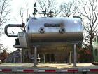 USED: U S Filter Corporation 400 sq ft pressure leaf filter, model 400 Autojet. T304 stainless steel polished tank. ASME cod...