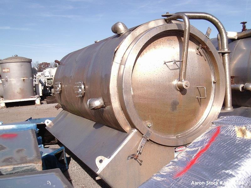 Used- United States Filter Corporation, Model 900, Auto-Jet Self Cleaning Pressure Leaf Filter. 304 Stainless steel. Unit ho...