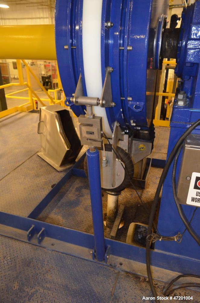 "Used- Fournier Industries 36"" 2 Channel Rotary Press, Model 4(6)-900/6000 CV. Dewatering area 21.55 square feet, up to 100 g..."