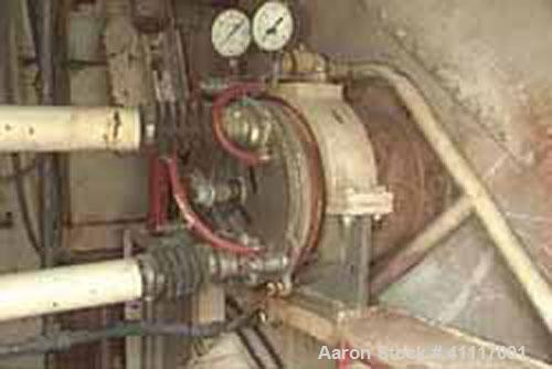 Used-Mobile sludge dewatering and filtration system consisting of Komline Sanderson 6' diameter x 12' face rotary vacuum fil...