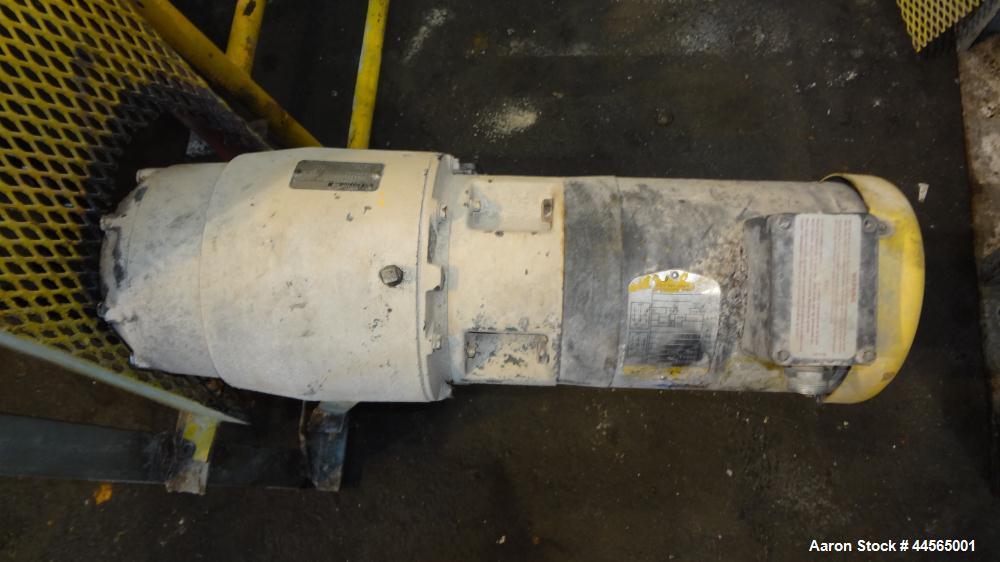 Used- Stainless Steel Rotary Drum Vacuum Filter