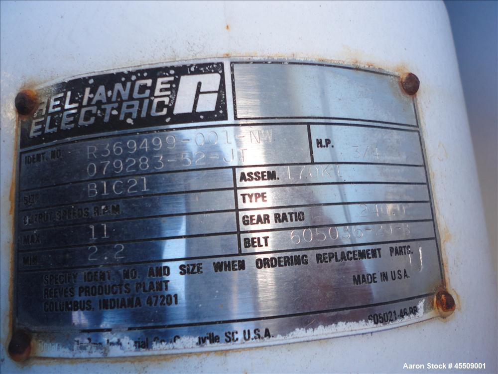Used- Alar Engineering Auto-Vac Rotary Vacuum Filter, Model AV660