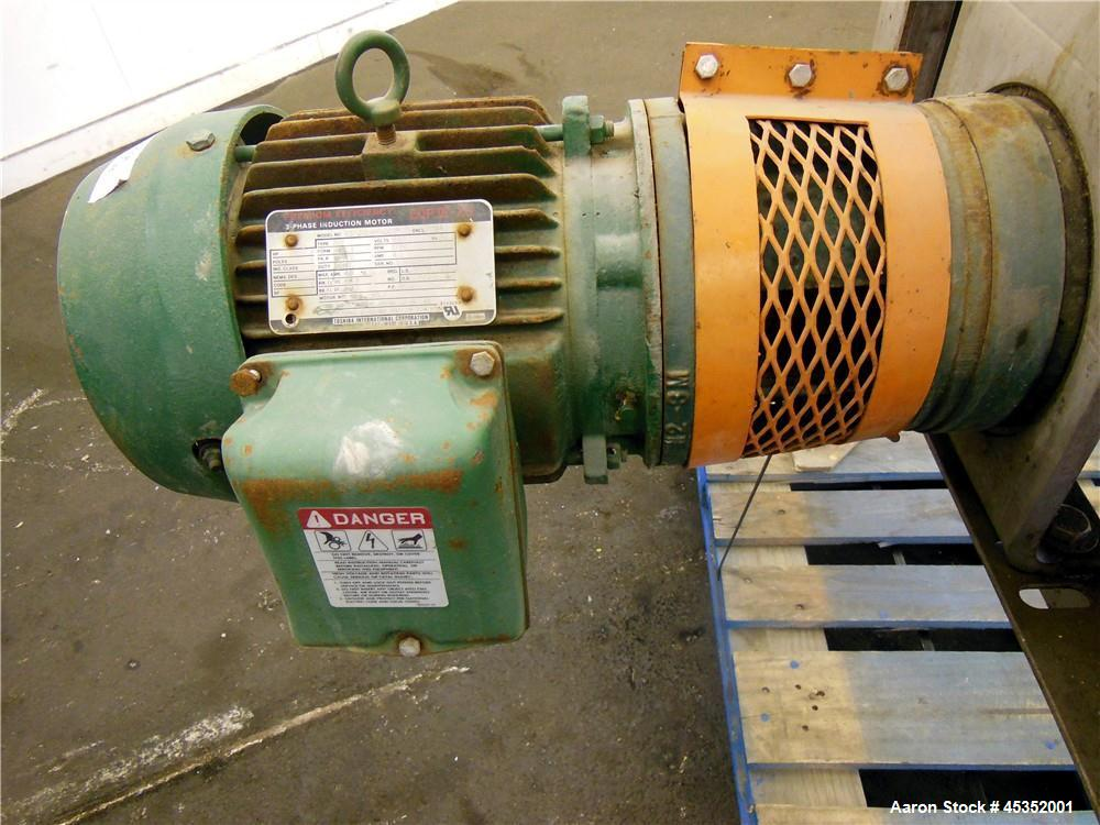 Used- Stainless Steel Bird Young YUF Rotary Vacuum Filter