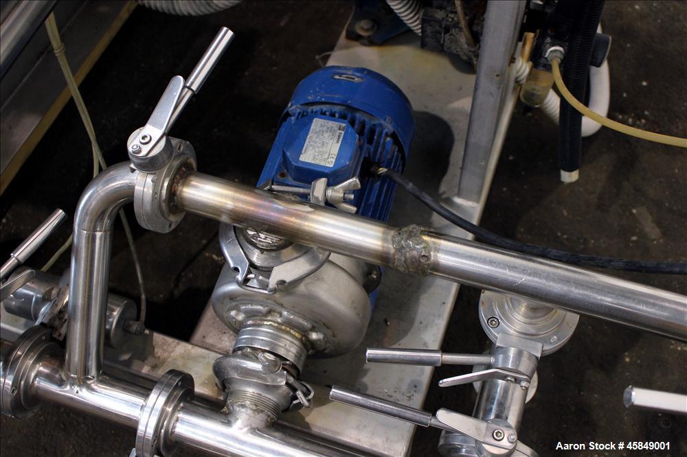 Used- Della Toffal horizontal rotary vacuum filter
