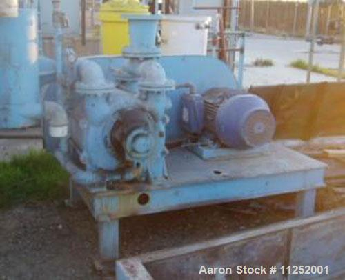 Unused-Used: Eimco 6' x 10', 188 square foot, rotary vacuum precoat filter. All wetted parts constructed of Eimcomet molded ...