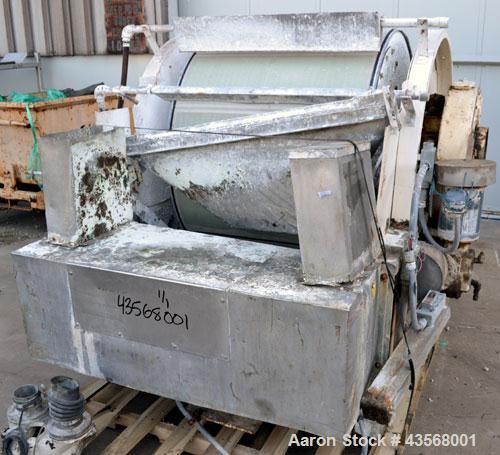 Used- Stainless Steel Eimco Rotary Drum Vacuum Filter