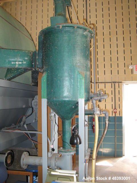 "Used- Eimco ""Eimcobelt"" 314 Square Feet Carbon Steel Rotary Vacuum Filter"