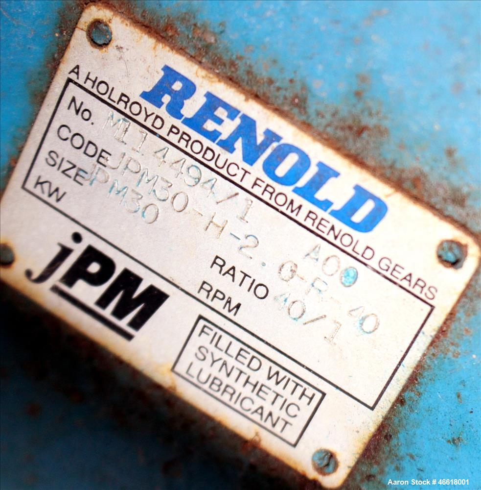 Used- Filtration Services Limited RotoVac Rotary Vacuum Filter, 316 Stainless St