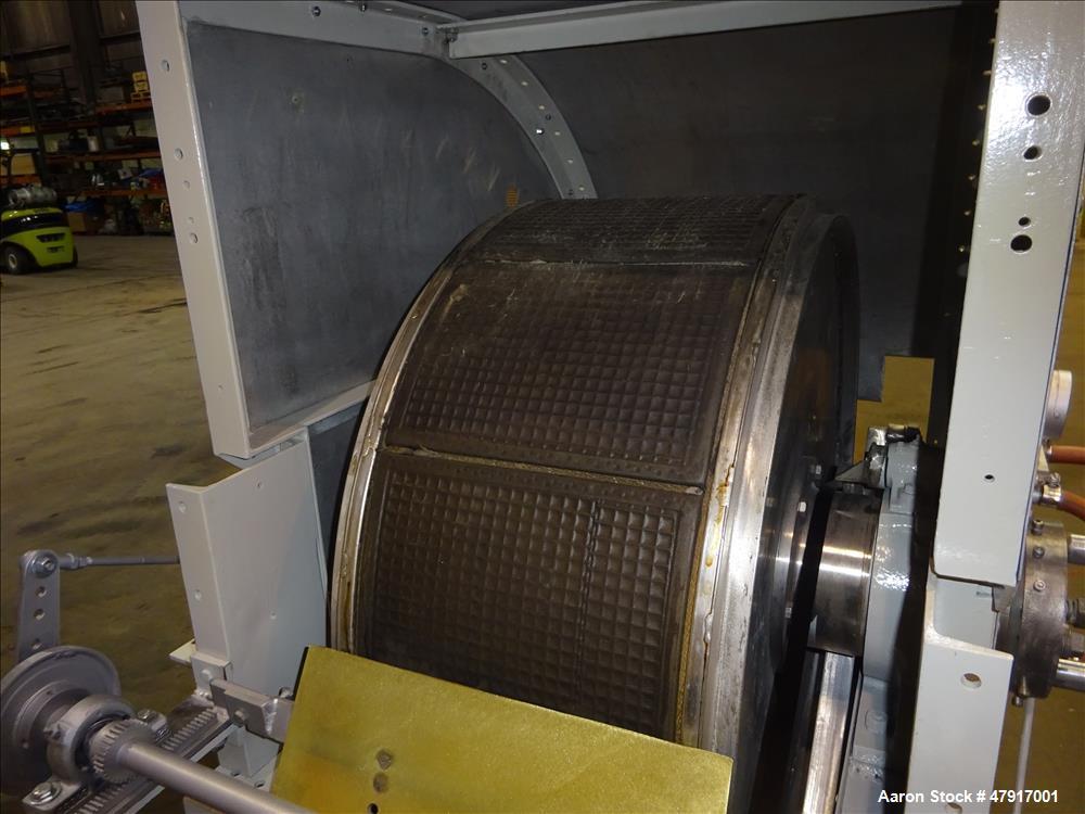 Used- Komline-Sanderson Rotary Vacuum Filter 316 Stainless Steel.