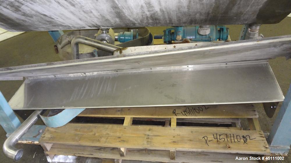 Used- Stainless Steel Larsson Rotary Vacuum Filter