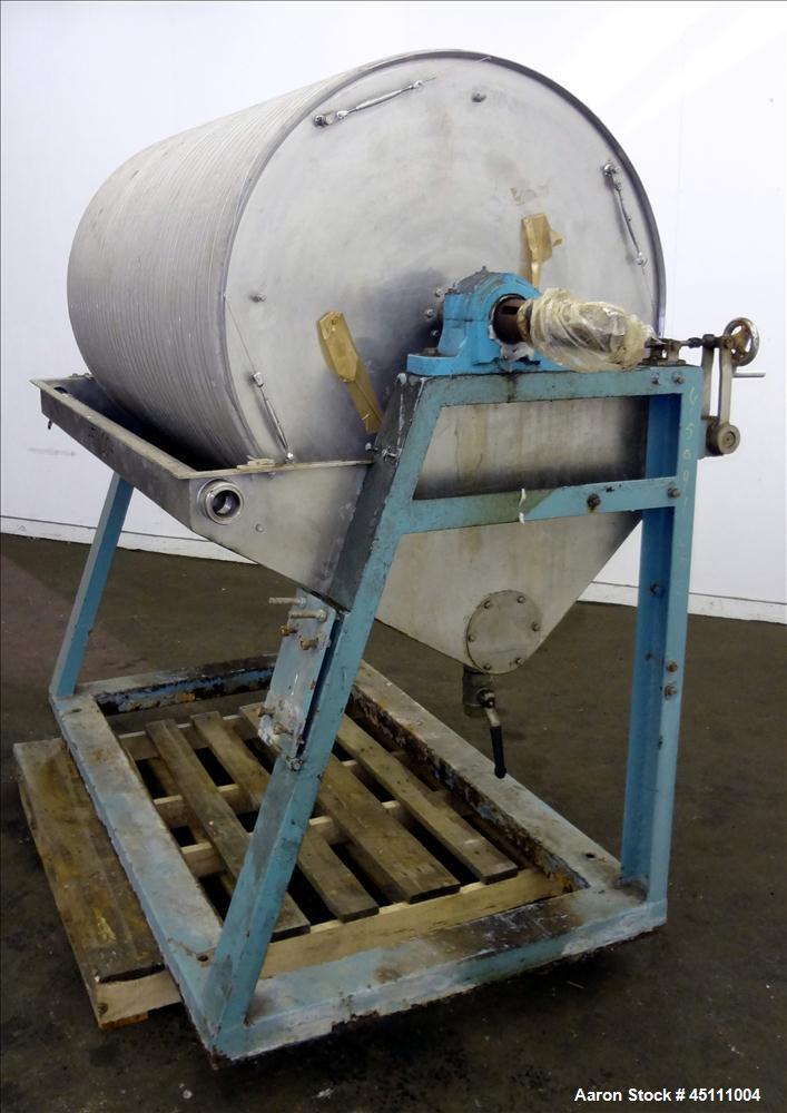 Used- Stainless Steel Rotary Vacuum Filter
