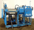 "Used- Alar Auto-Vac Filter System Consisting Of: (1) Alar rotary vacuum filter, model 220. 24"" Diameter x 24"" face 304 stain..."
