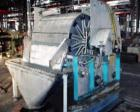 USED: Dorr Oliver rotary vacuum filter, 4 sq meter. Material ofconstruction is 316Ti (1.4571) stainless steel. 3'9