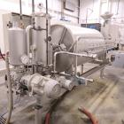 Used- Padovan Rotary Drum Filter, Stainless Steel. Diatomaceous Earth. Approximately 65 square feet.  Roll dimensions 39.5
