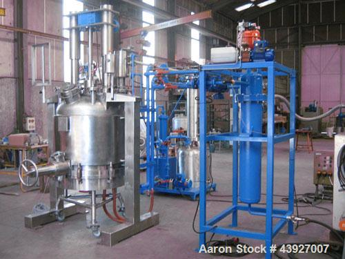 Used- Plant Line for Extraction/Filtration and Drying