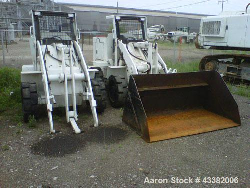 Used-Waldon Wheel Loader, Model 6000C, 80 hp, 1.0-1.25 yd capacity, powered by Cummins Diesel engine. 67 hours. Missing atta...
