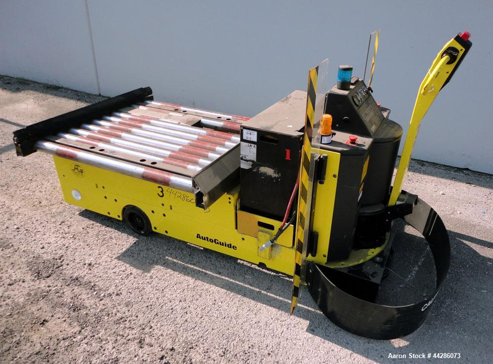 Used- Clark Automated Guided Vehicle, Model TWC40, Type E. #3. 4,000 Pound Capacity Electric Automatic Guided Vehicle, 42 in...