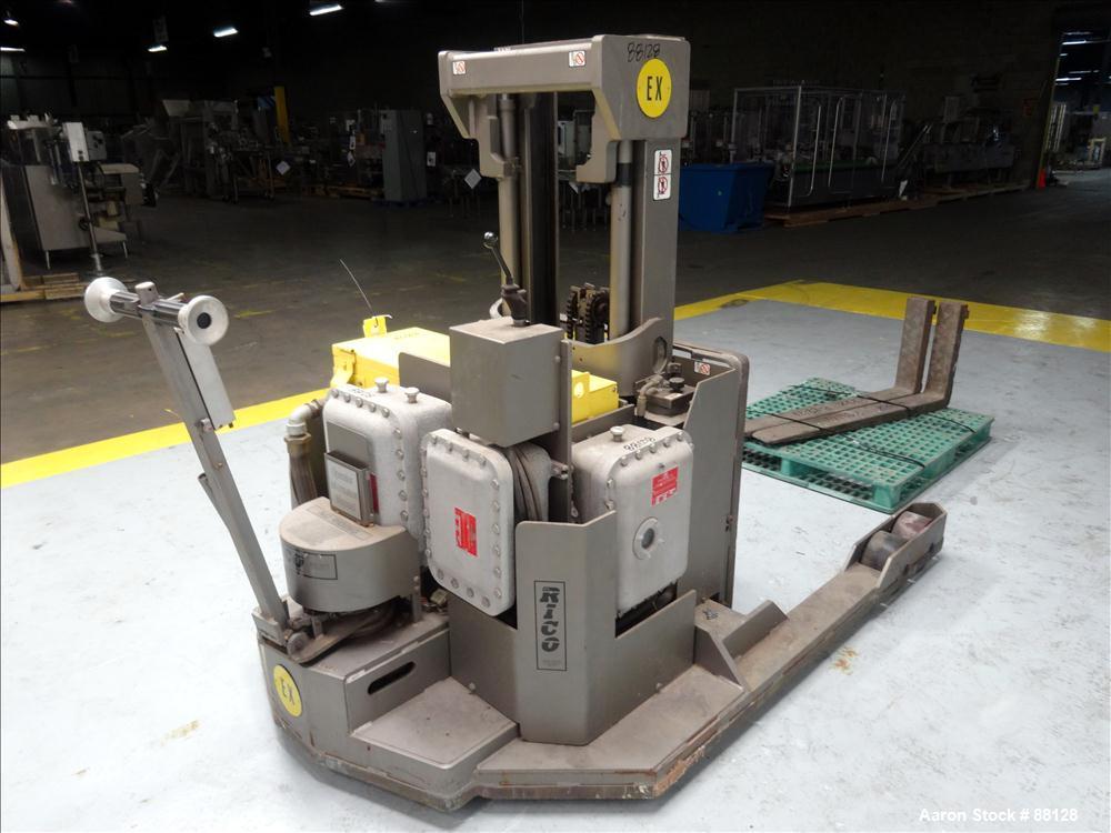 Used- Rico Walk-Behind Forklift, Model HLW-EX-30
