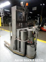 Used- American Specialty Equipment XP Walk Behind Fork Lift, Model WR2ET