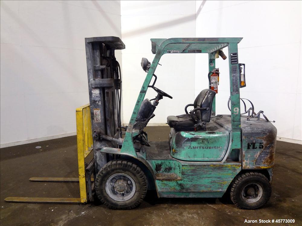 Used-Mitsubishi Fork Lift, Model FG 25K.