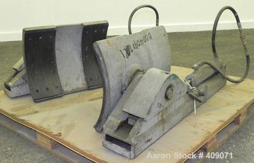 Used-Used- Fork Mounted Drum Lifter.