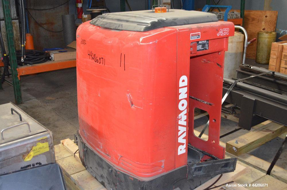 Used- Raymond Model 5500PC30TT, 3,000 Pound Capacity Electric Stand Up Riding Cherry Picker Style Lift 3,000 Pound Capacity ...
