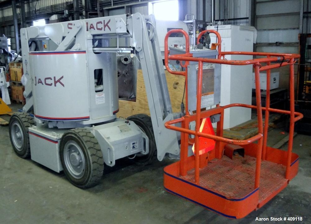 Used- Skyjack Articulated Boom Lift, Model SJKB-33N