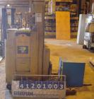 Used- Clarklift Electric Truck Electric Forklift, model NSP30, stand up style. 3000 pound capacity, rated output 66 amp hour...
