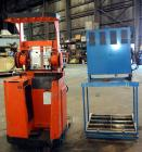 """Used- Raymond Corporation Stand Up Electric Reach Lift Truck, Model 20-R30TT. 3000 Pound capacity at 190"""" lift height. (2) S..."""