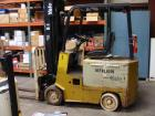 Used-Yale Aprox. 2,000 lb. Capacity 24 V Electric Sit-Down Forklift, Model MSW020LAN24CS083, S/N N576930 with 2-Stage 126