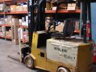 Used- Yale Aprox. 2,000 lb. Capacity 24 V Electric Sit-Down Forklift, Model MSW020LAN24CS083, S/N N576930 with 2-Stage 126