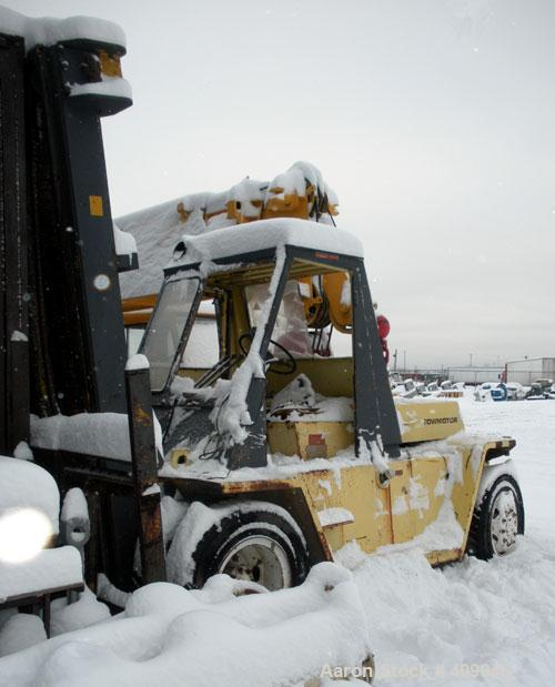 """Used- Caterpillar Towmotor, Model V225, 30,000 lbs cap.  Truck Capacity 22,500 Pounds, 24"""" Load Center, 218"""" Fork Height, Eq..."""