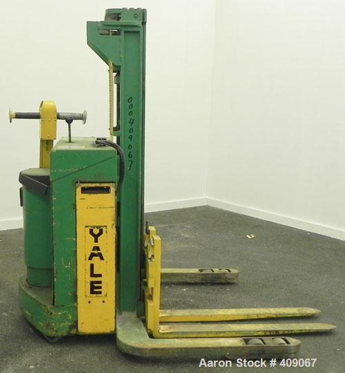 Used-Used- Yale Motorized Electric Hand Truck, Model VFB206071. 2000 Pound Capacity