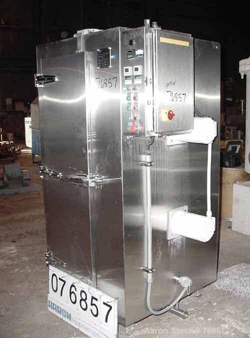 "USED- Martin Baron Flash Freezer, Model MB1-111-002-16, Design LN2, remote unit, stainless steel. 17"" wide x 62"" tall x 28"" ..."