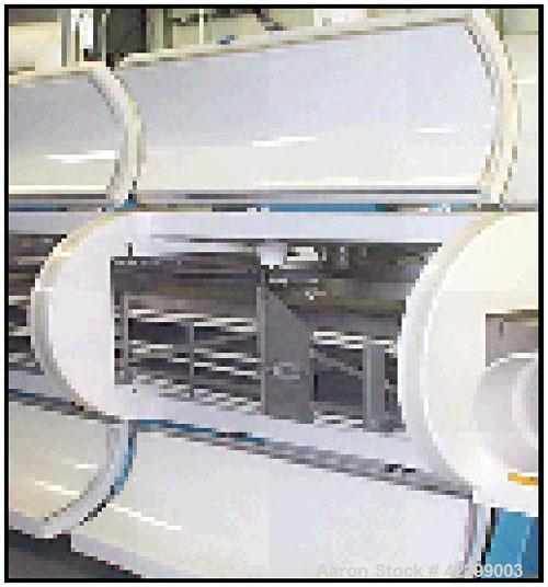 "Used- Cardox Nitrogen Triple Pass, Model 1-55-0003-03, 3 modules, 30"" wide belt, 57' total length of belt, 21'7"" total lengt..."