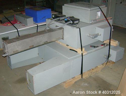 "Used- RMF Freezing System Spiral Freezer, model 2813-83-R36, serial #108-402. Design capacity: 4"" x 3/8"" double stack veggie..."